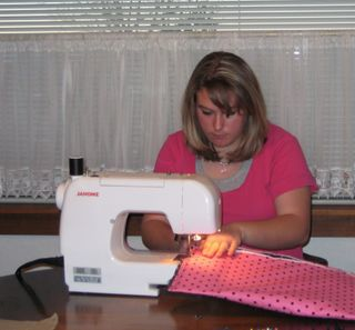 Jacey sewing computer bag